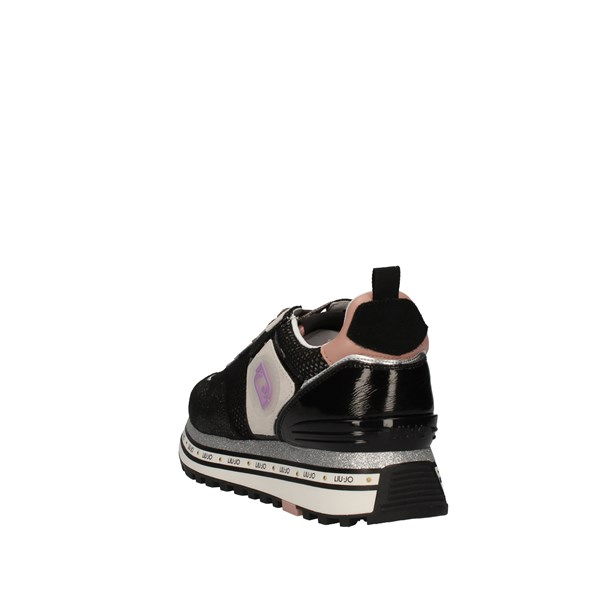 Liu Jo Shoes Woman With Wedge Black BA1057 TX085