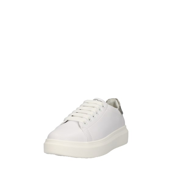 Keys Shoes Woman Low White K-4000