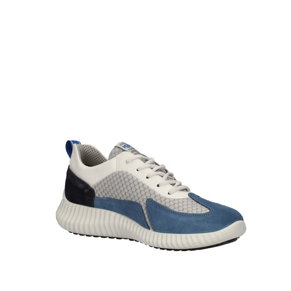 Igi e Co Shoes Man  low Light blue 7124111