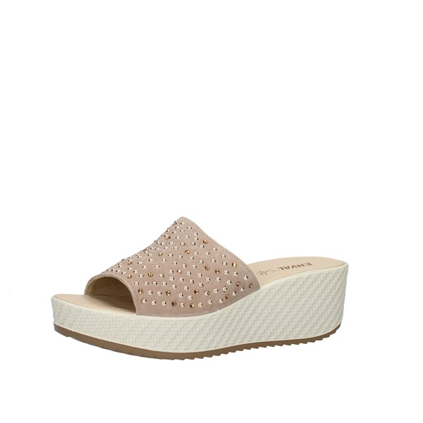 Enval Shoes Woman  With wedge Beige 7280022