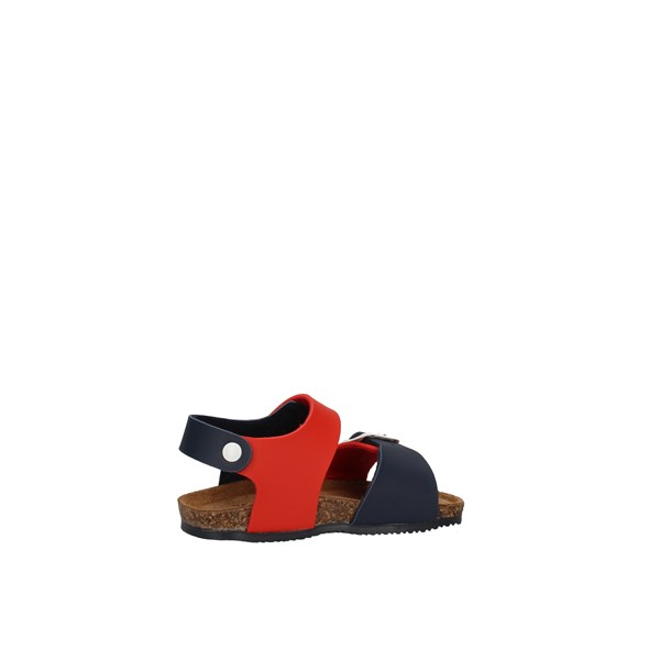 Gold Star Shoes Child Sandals Red 845V