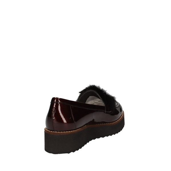 Pitillos Shoes Woman Slip on Bordeaux 5863